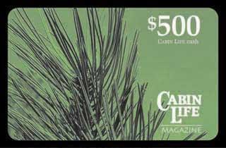 Cabin Life Gift Card