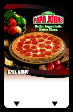 Papa Johns Advertising